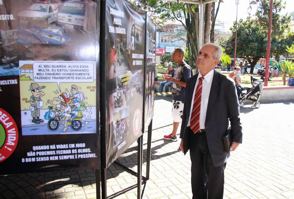 O pastor evangélico Waldir Francisco de Paula destacou a importância da Semana Nacional de Trânsito em Teresópolis