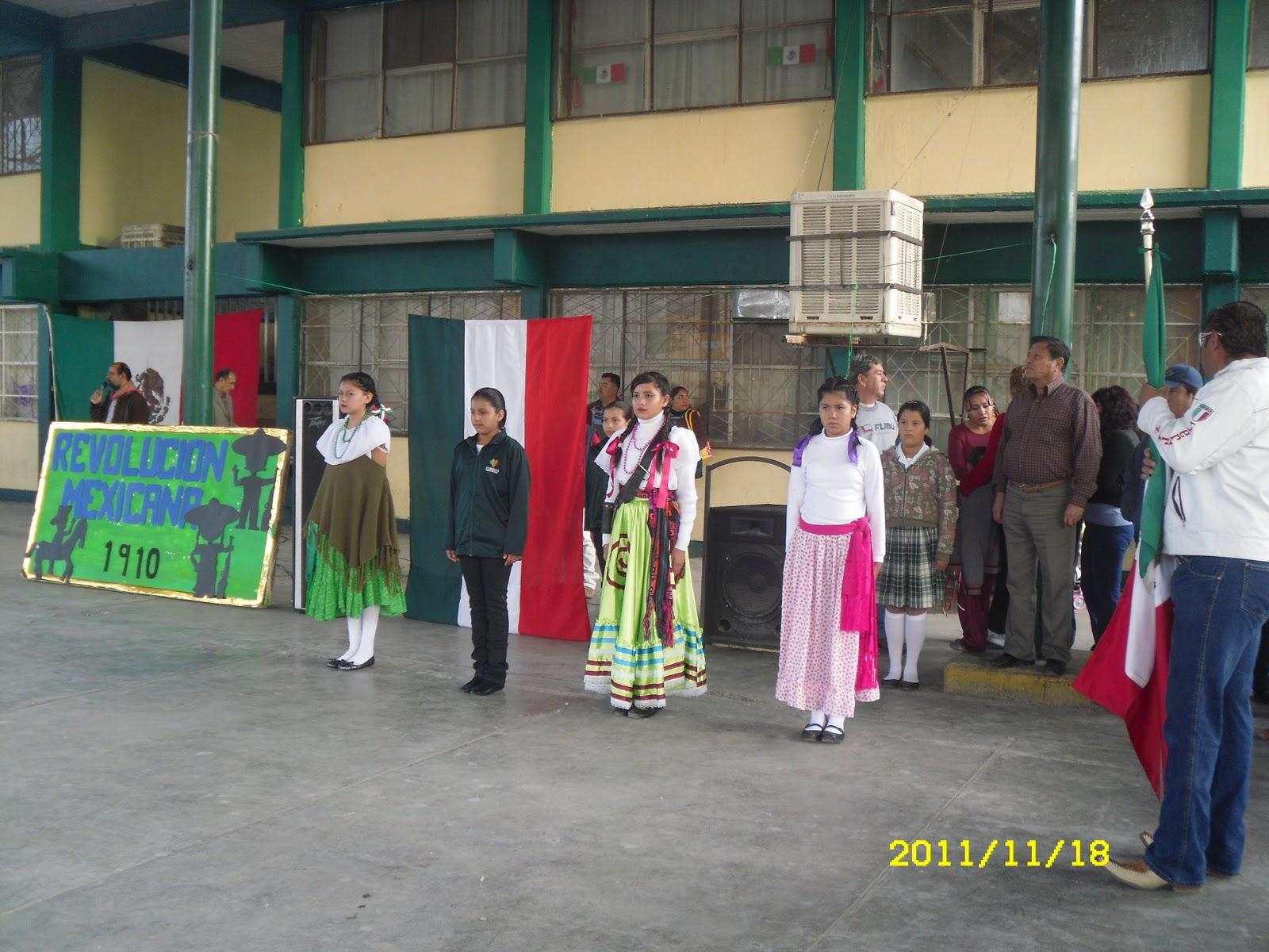 Celebración del Aniversario del Inicio de la Revolución Mexicana