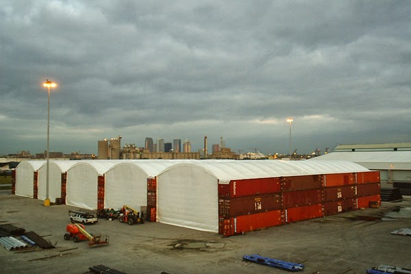 Portable Fabric Structures : How to maintain a fabric shelter and buildings portable