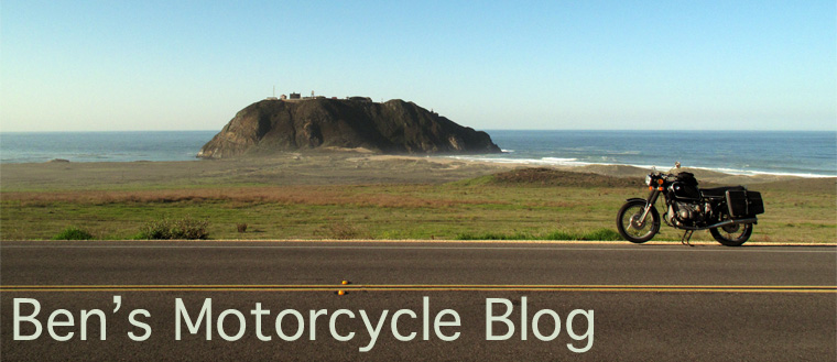 Ben's Motorcycle Blog