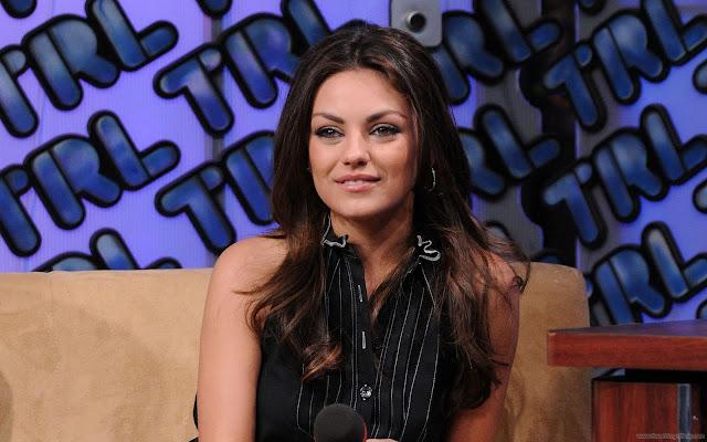 Gorgeous Mila Kunis Wallpaper