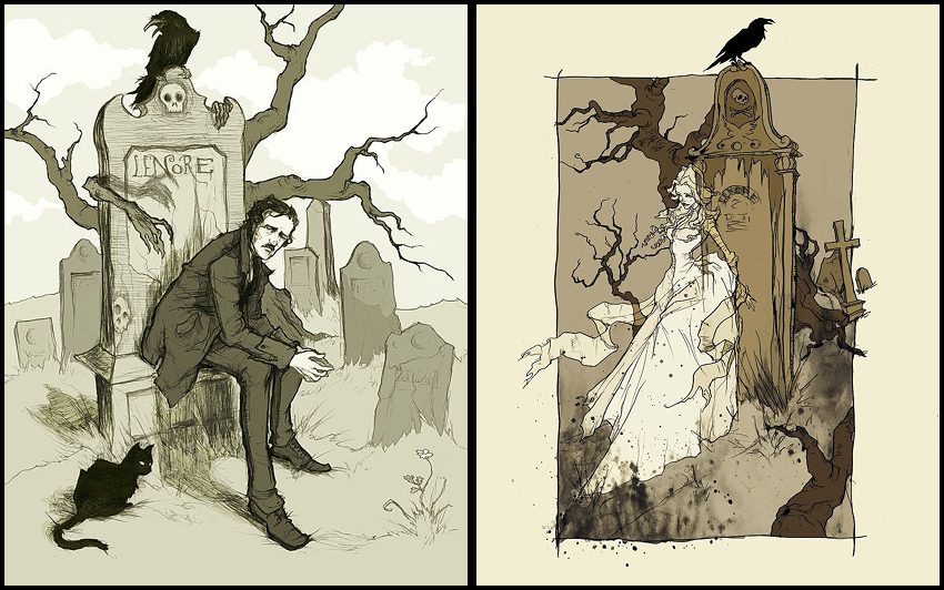 the lost love archetype in eleonora and the oval portrait by edgar allan poe