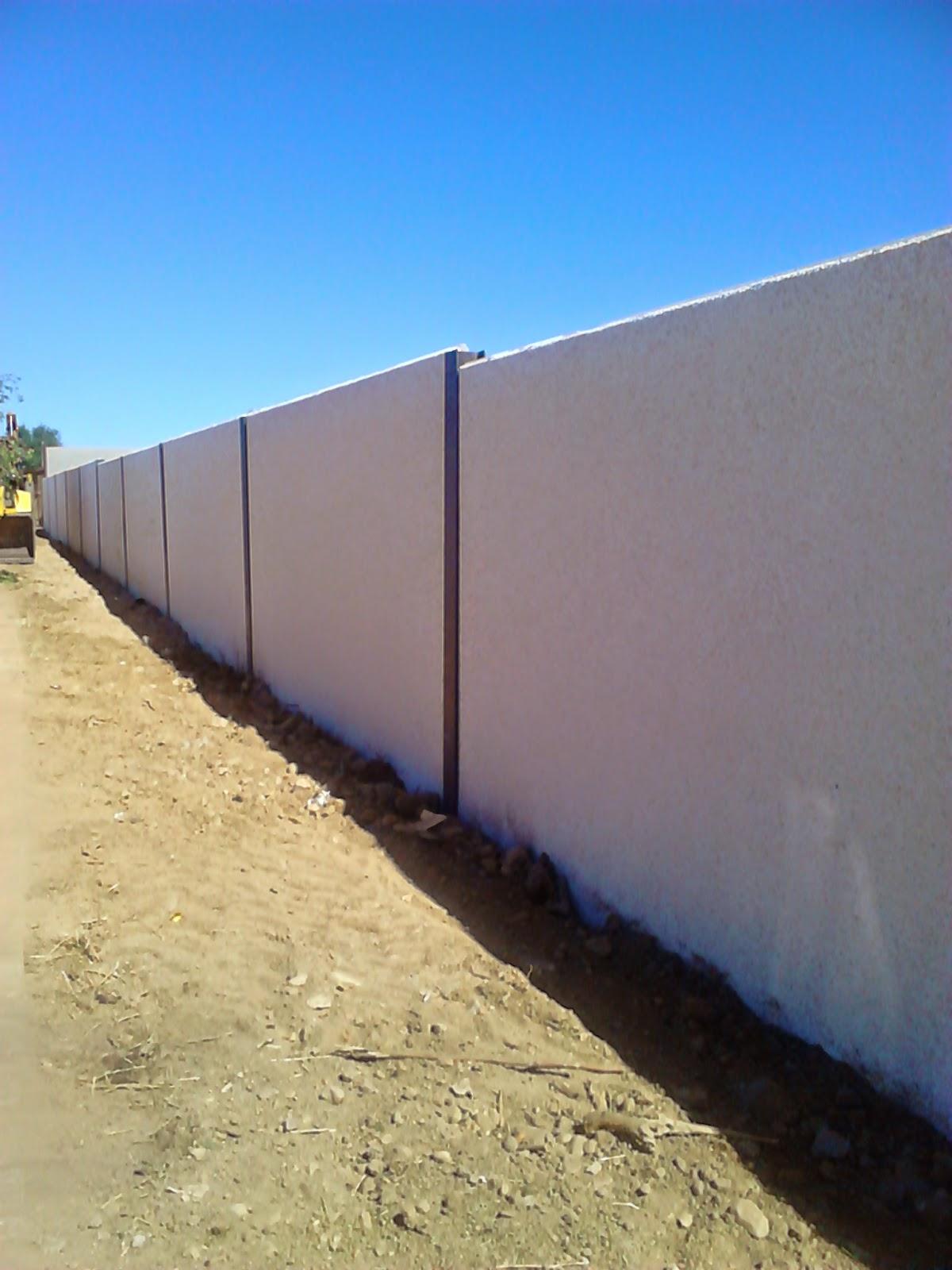Muros medianeros presupuesto de muros medianeros muros medianeros de placas alveolares muros - Muros de hormigon ...