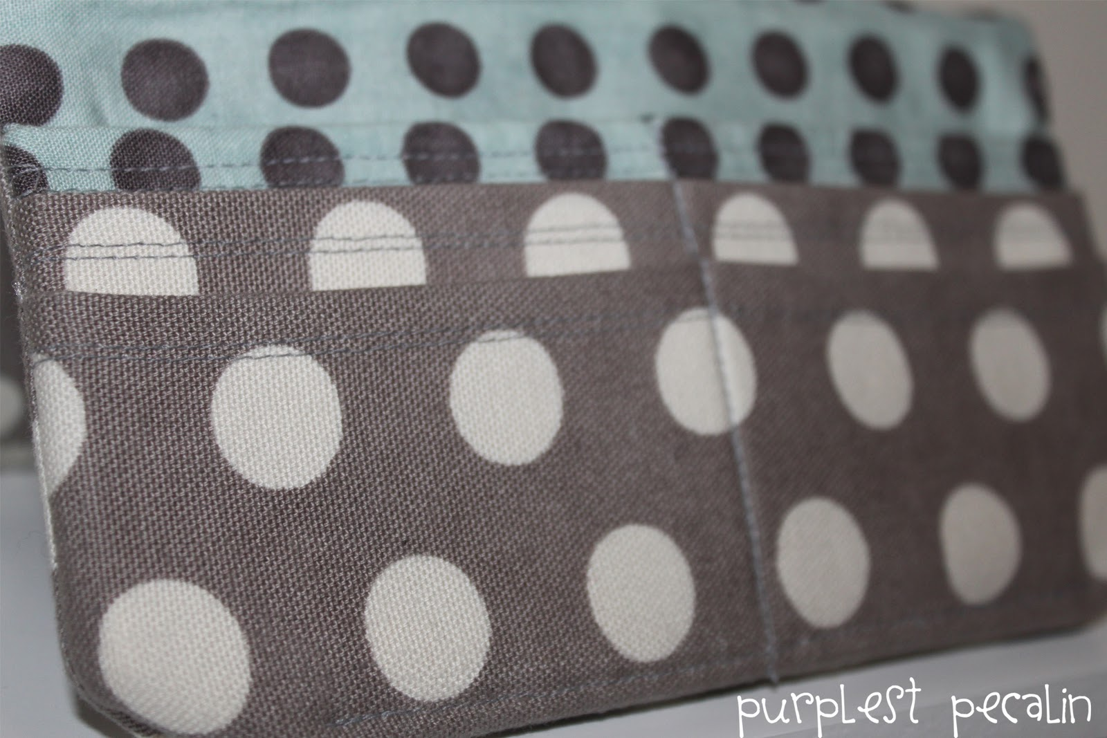 Purplest pecalin credit card pocket tutorial for walletsclutches now your credit card pocket slots are ready to sew into the rest of your walletclutch if you are using amy butlers styles stitches checkbook cover jeuxipadfo Choice Image