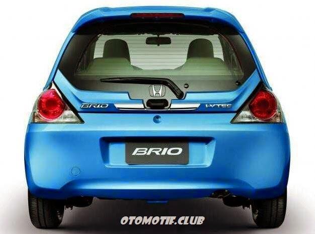 Gambar Honda Brio Satya bagian belakang