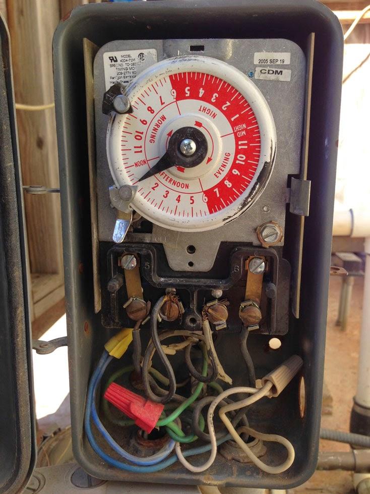 wiring diagram for 220v pool pump timer hot tub heater