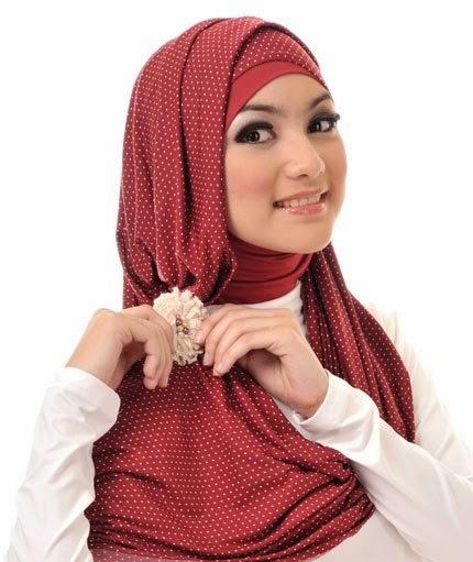 jilbab pashimina keren terbaru