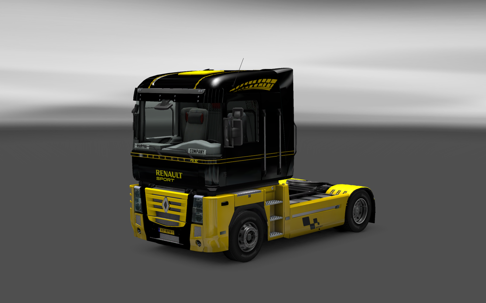 mtrmarivaldotadeu euro truck simulator 2 renault magnum sport by akin koeln. Black Bedroom Furniture Sets. Home Design Ideas