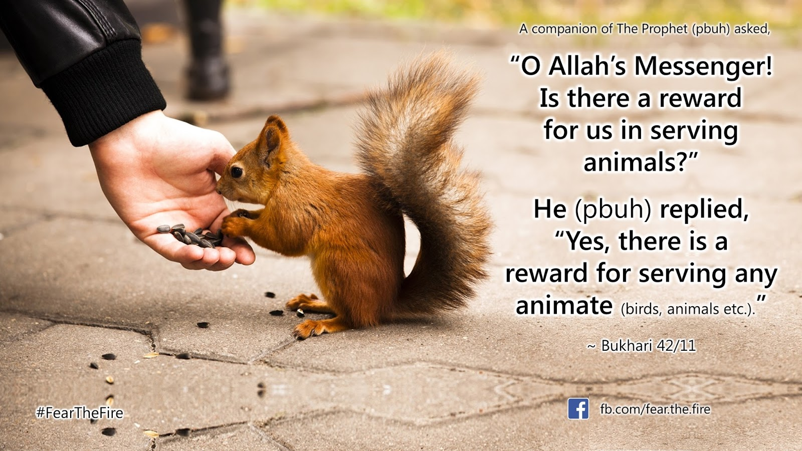 Treating others kindly hadith