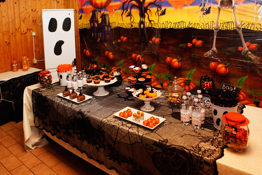Home Confetti: HALLOWEEN THEMED BIRTHDAY PARTY FROM ITALY