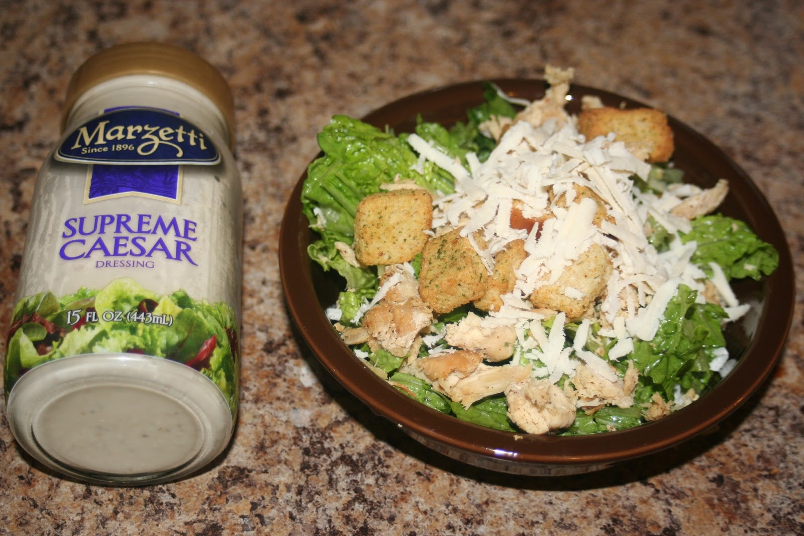 Recipes We Love: Grilled Chicken Caesar Salad