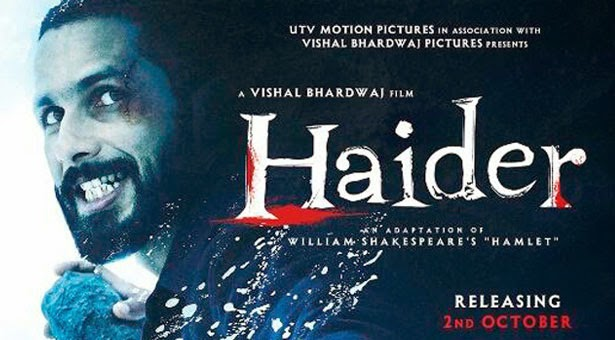 Latest haider (2014) box office collection Verdict (Hit or Flop) wiki, report New Records, Overseas day and week end.