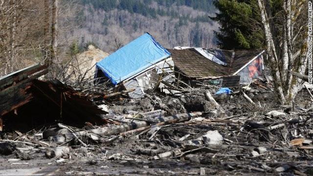 Énorme glissement de terrain aux Etats-Unis