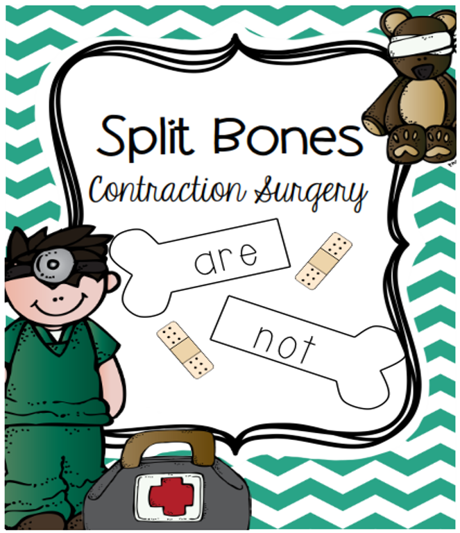 https://www.teacherspayteachers.com/Product/Split-Bones-Contraction-Surgery-413792
