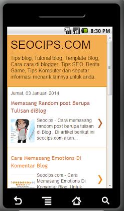 Membuat Aplikasi Blog Untuk Android