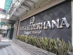 Hotel Murah Dekat Stasiun Medan - Wisma Sederhana Budget Hotel