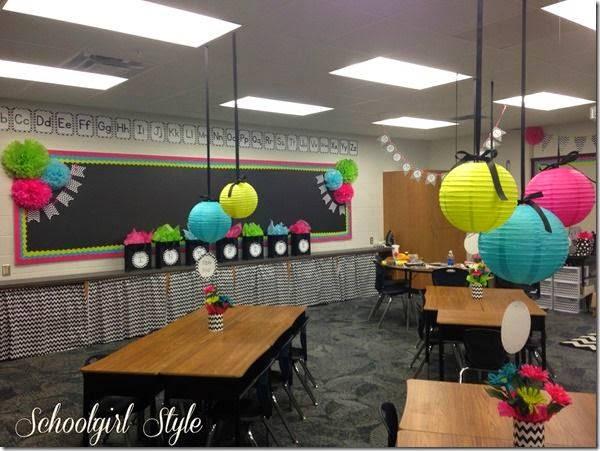 Second grade nest classroom inspiration for Art classroom decoration ideas