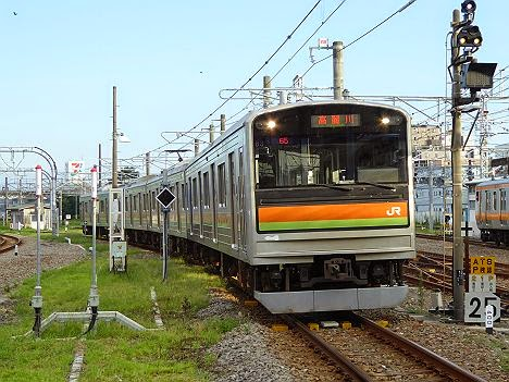 八高線 高麗川行き 205系3000番台