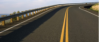 Materiales asfálticos - Camino asfaltado