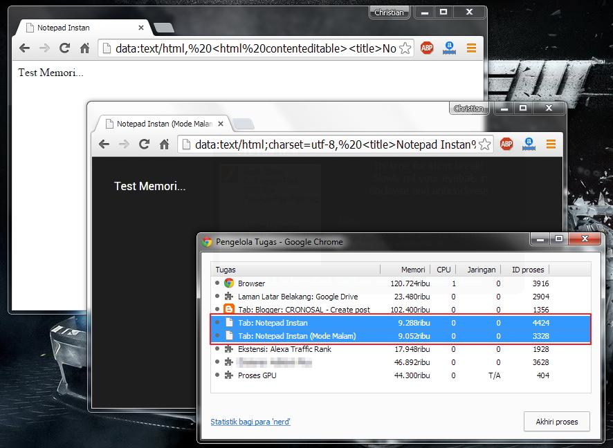 Cara Membuat Notepad Instan di Browser