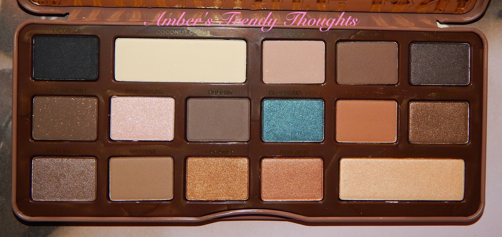 Too Faced Chocolate Bar Palettes Worth The Hype? | Amber\'s Trendy ...