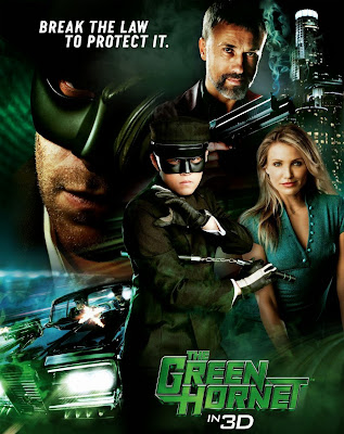 Poster Of Free Download The Green Hornet 2011 300MB Full Movie Hindi Dubbed 720P Bluray HD HEVC Small Size Pc Movie Only At worldfree4u.com
