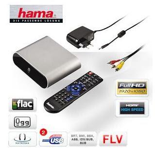 Full-HD-Mediaplayer Hama MP20 bei iBood für 45,90 Euro inklusive Versandkosten