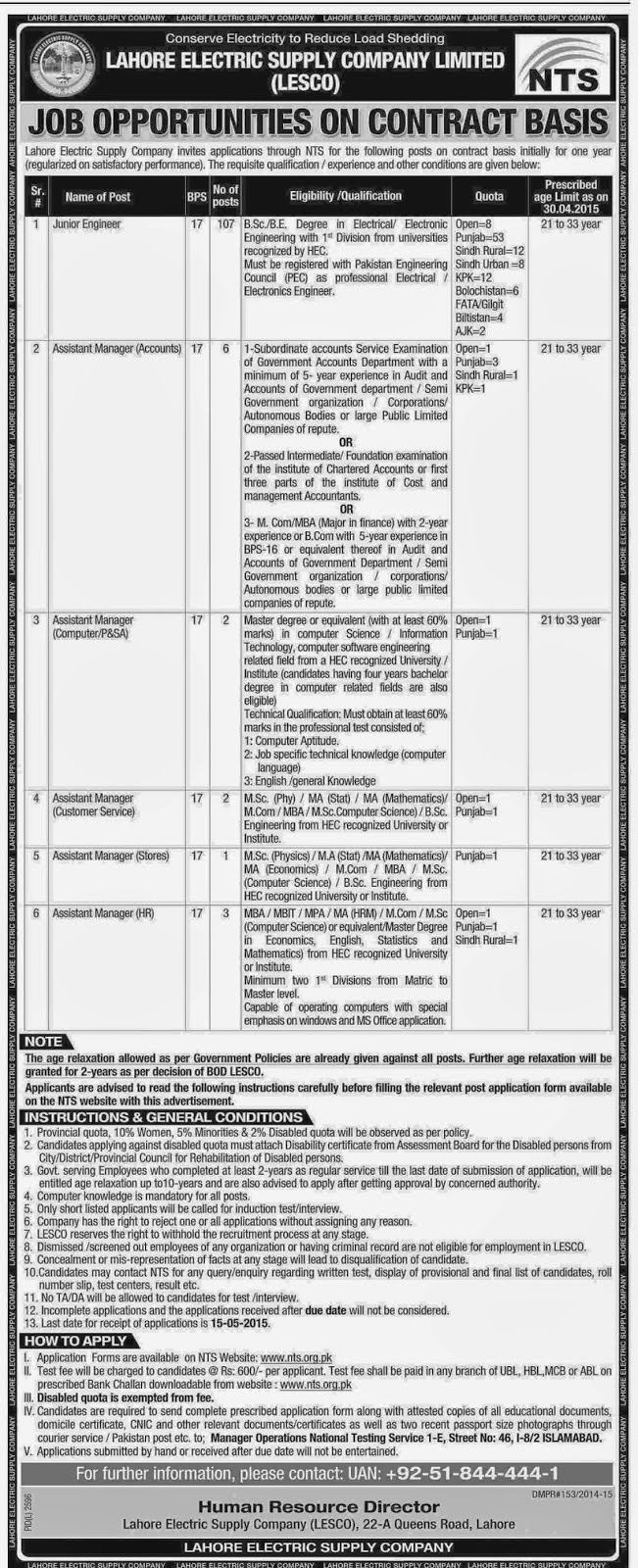 Jobs-Lahore-Electric-Supply-Company-LESCO