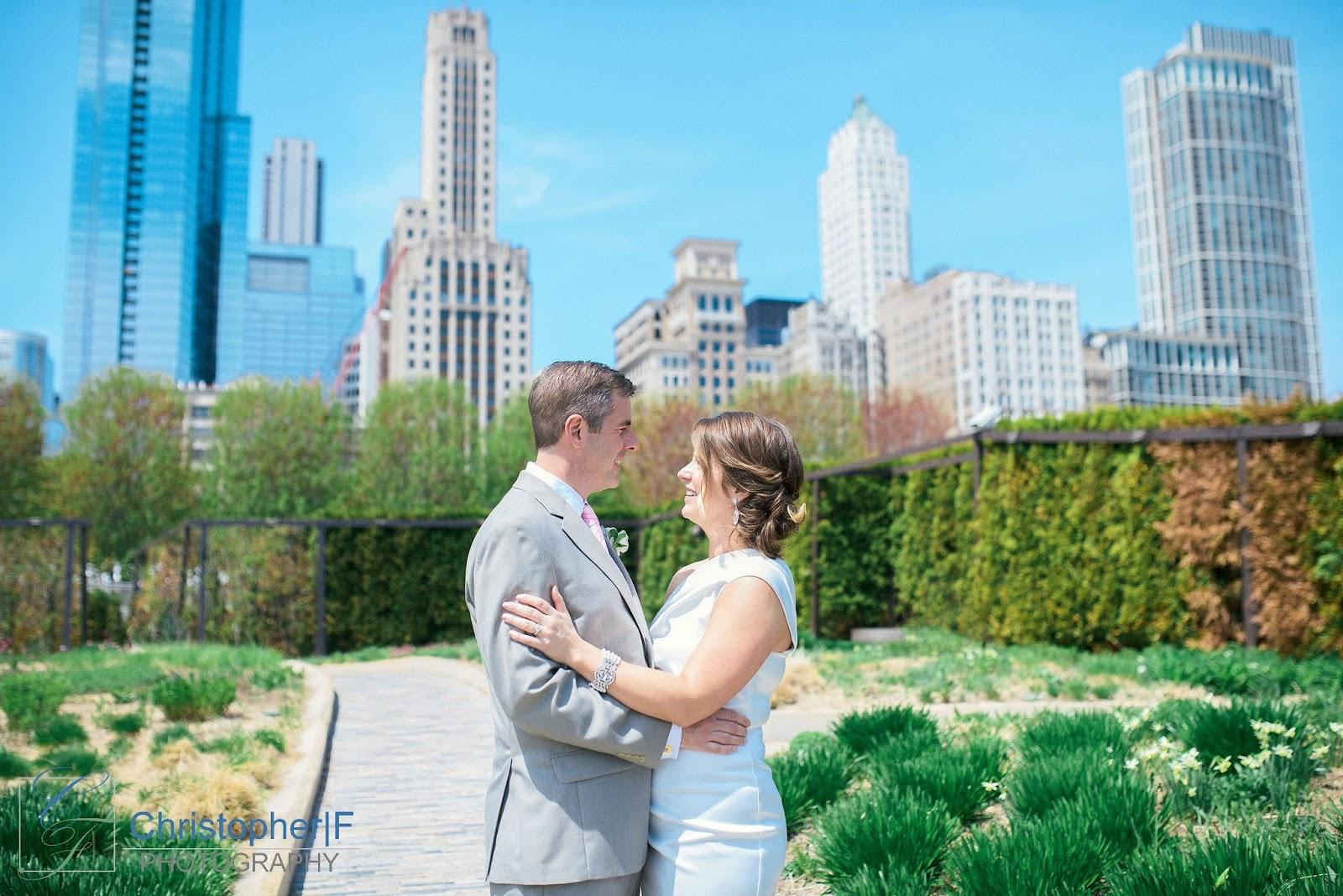 Millenium Park Wedding Photo