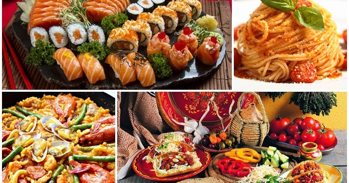 7 países e sua gastronomia - Amando Cozinhar - Receitas, dicas de ...