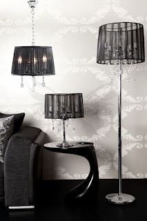 luxusne lampy a svietidla, moderne dobove lampy do obyvacky alebo spalne.