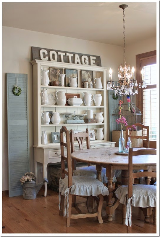 Fishtail Cottage Dining Room- Treasure Hunt Thursday- From My Front Porch To Yours