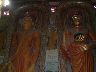 Le temple de Dickwella au Sri Lanka