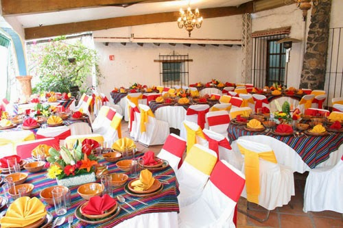 montaje mexicano boda
