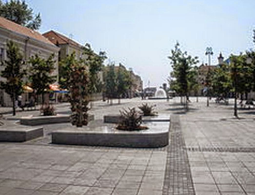 Slavonski Brod glavni Trg Korzo