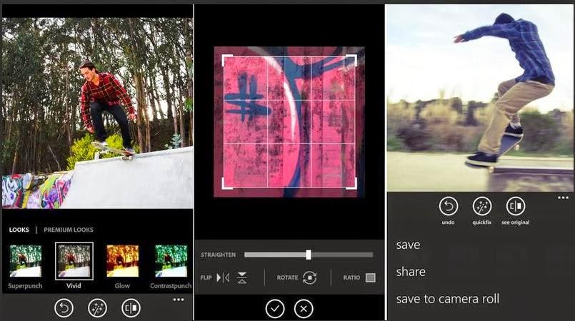 tentu aplikasi pengolah image niscaya sangat diharapkan Tips Olah Foto Photoshop Express di Windows Phone