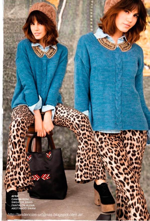 calza leopardo 47 Street invierno 2013