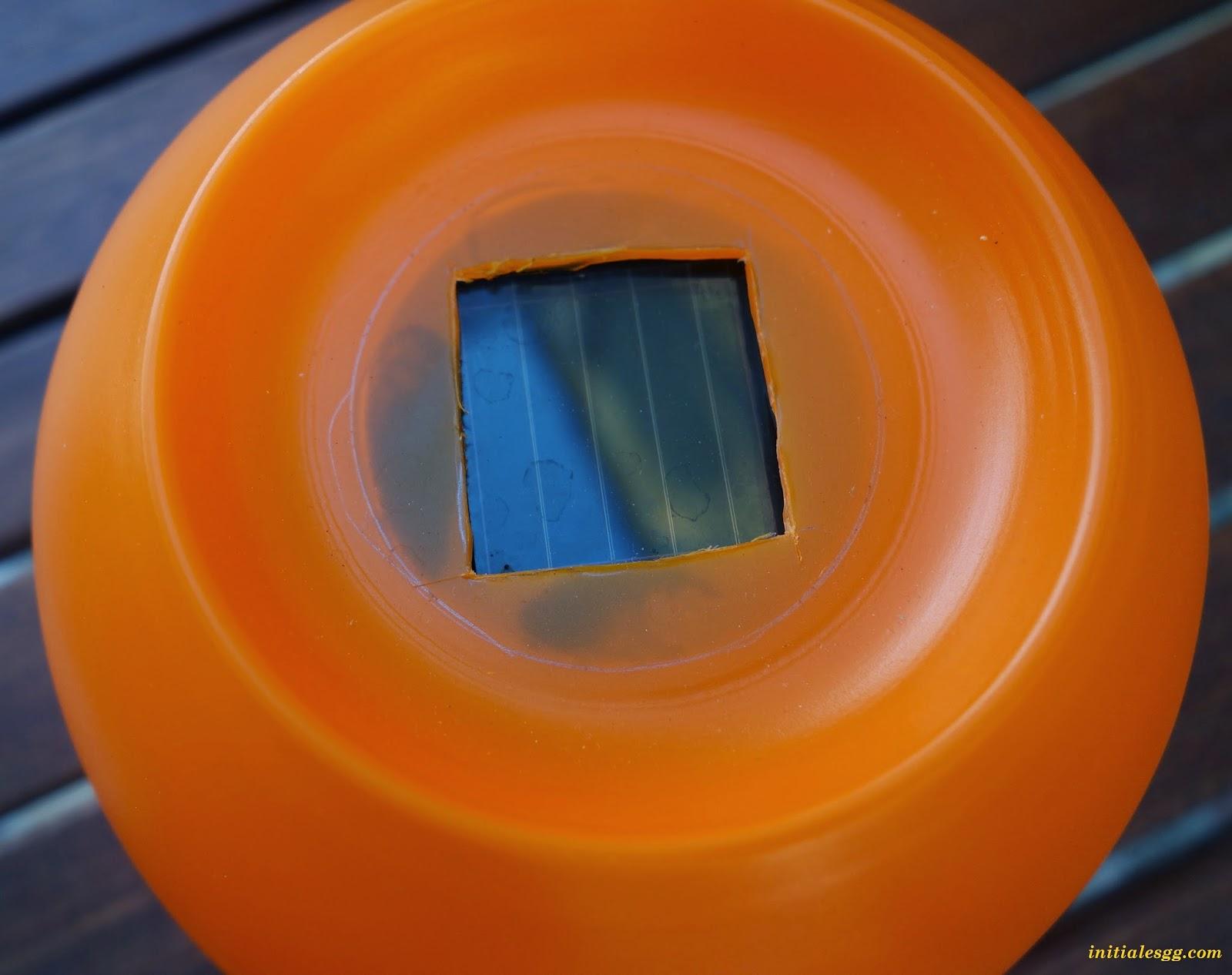 diy fabriquer une lampe solaire pour 7 initiales gg. Black Bedroom Furniture Sets. Home Design Ideas