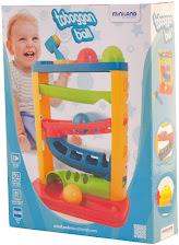 Miniland- Toboggan Ball Circuito de Bolas para bebé