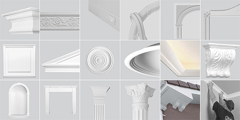 Reforma tu vivienda molduras decorativas orac - Molduras decorativas poliestireno ...