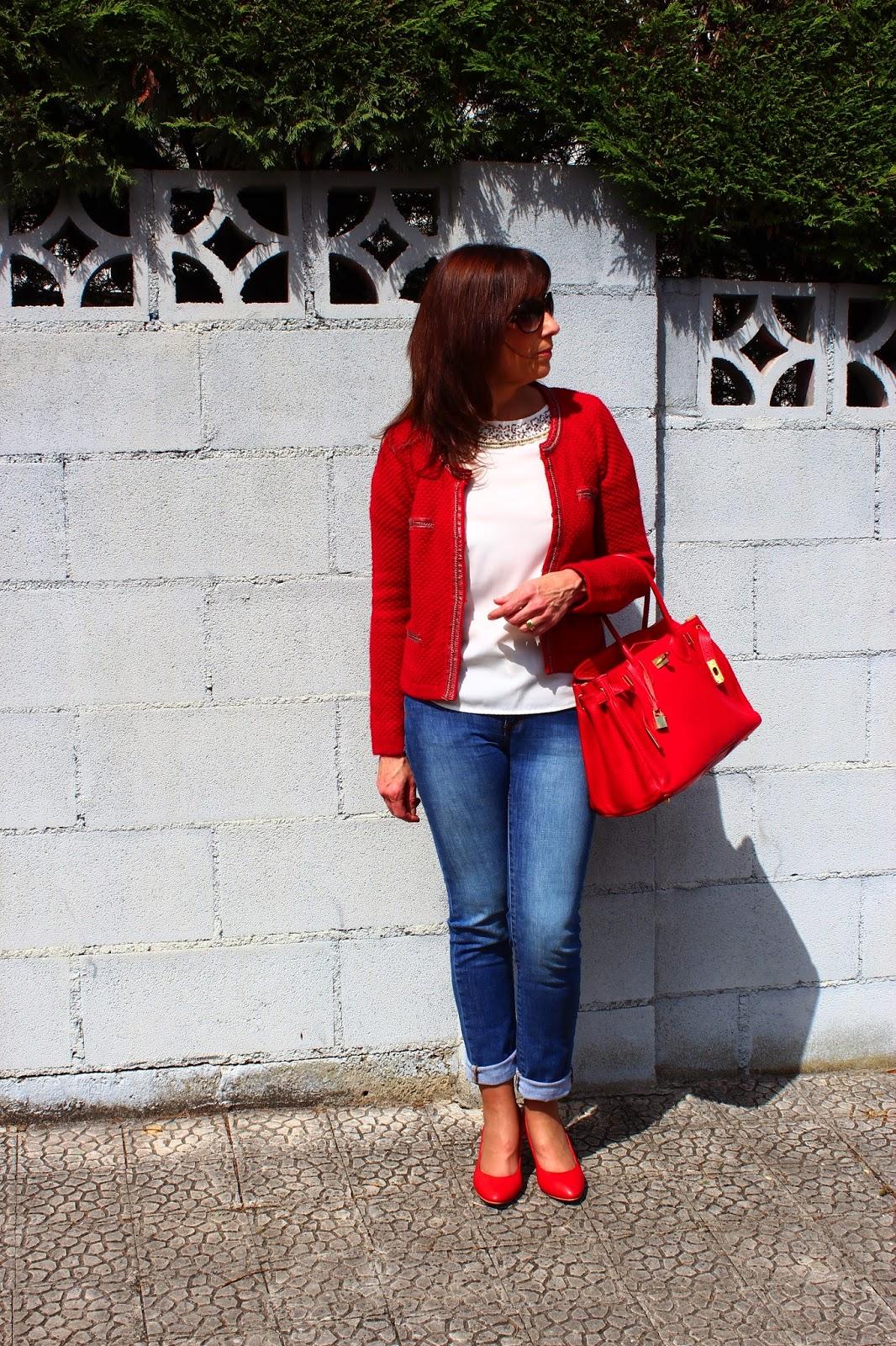 Br jula de estilo mis looks con rojo - Brujula de estilo ...