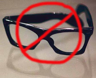 No To Glasses
