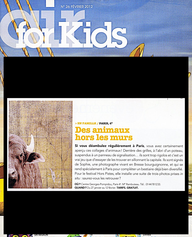 AIR FOR KIDS, février 2012