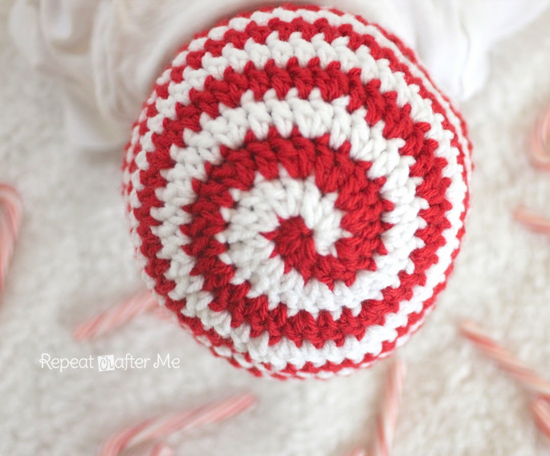 Crochet Candy Cane Hat Pattern Repeat Crafter Me