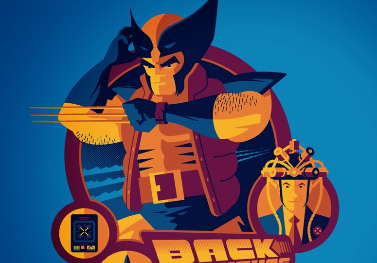 Back to the Future Past by Tom Whalen