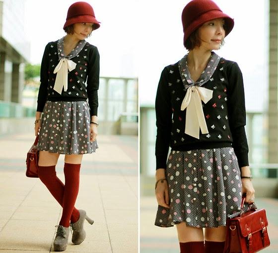 1766925 dots2526bows - Yeni Trend: Elbise �st� Kazak