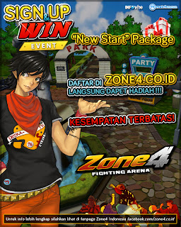 EVENT SIGN UP AND WIN ZONE4 INDONESIA