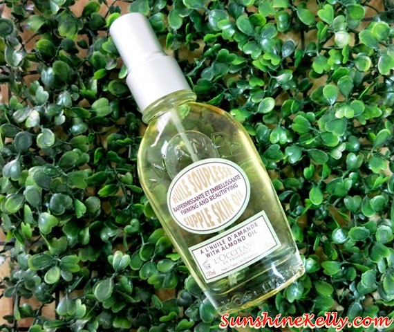 L'OCCITANE Almond Supple Skin Oil, Review: L'OCCITANE Almond Body Care, Redefine Your Curves, L'OCCITANE Almond Body Care, L'OCCITANE, firming, slimming, body care, almond collection,