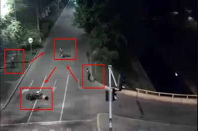 Video Begal di Tembak Setelah Melakukan Aksinya di Dekat Pos Polisi