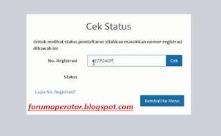 Cara Cek Status Pendaftaran E-PUPNS